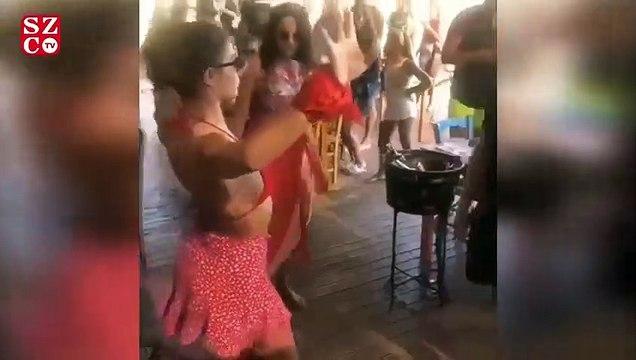 Demet Özdemir'den göbek dansı