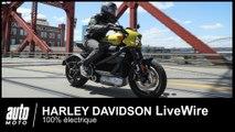 2019 Harley Davidson LiveWire Electrique 1er Essai Français POV AUTO-MOTO.COM