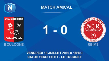Résumé match amical USBCO - Reims
