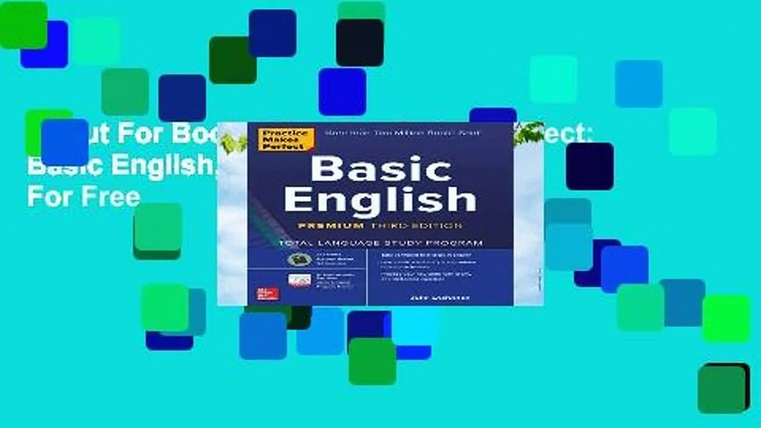 About For Books  Practice Makes Perfect: Basic English, Premium Third Edition  For Free