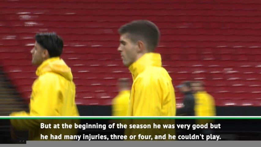 Pulisic will be very important for Chelsea - Favre