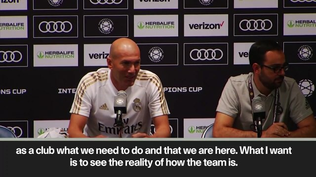 (Subtitled) 'We'll see what happens' Zidane dampens Pogba speculation