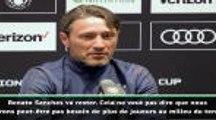 "Transferts - Kovac : ""Renato Sanches va rester au Bayern"""