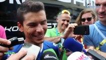 """Tour de France 2019 - """"Le beau dilemme"""" de Warren Barguil :  échanger son maillot bleu-blanc-rouge  contre un maillot à pois !"""