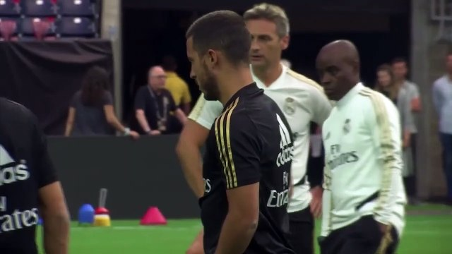 (Subtitled) 'Hazard is a huge plus for us...he makes a difference' Zidane praises new signing