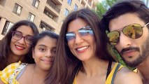 Sushmita Sen shares new videos of her Armenian vacation with Rohman Shawl & daughters | FilmiBeat