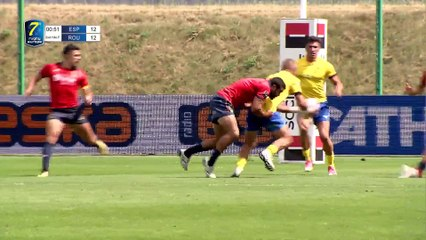 REPLAY DAY 1 ROUND 2 - RUGBY EUROPE SEVENS GRAND PRIX SERIES 2019 - LODZ (2)