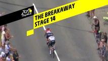 Première échappée / First breakaway - Étape 14 / Stage 14 - Tour de France 2019