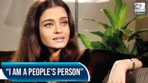 Aishwarya Opens Up About Her Personal Life