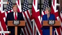 Trump Again Attacks London Mayor Sadiq Khan: City Will 'Never Have Safe Streets' Under Him