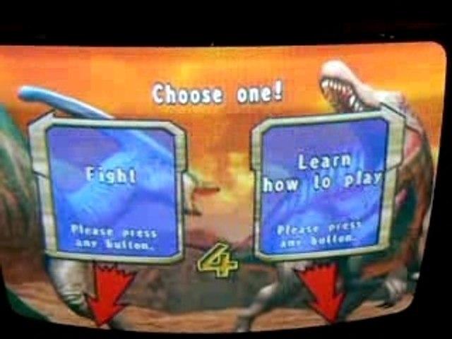 Dinosaur King gameplay video