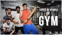 Types of people at Gym || Gymholic Comedy || Kiraak Hyderabadiz