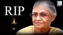 Three Time Delhi CM Sheila Dixit Passes Away