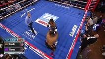 Mis K.O., un boxeur tombe du ring !