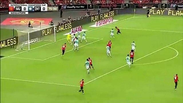 Manchester United 1-0 Internazionale - Mason Greenwood goal