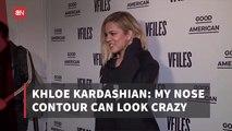 Khloe K Talks About Nose Beauty