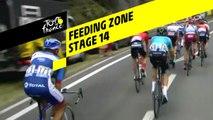 Zone de ravitaillement / Feeding zone - Étape 14 / Stage 14 - Tour de France 2019