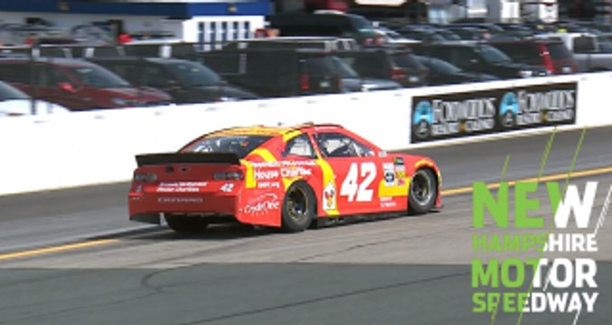 Larson becomes latest to go to backup car