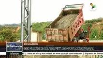 """Ecuador: inicia """"Mirador"""", proyecto de minería a gran escala"""