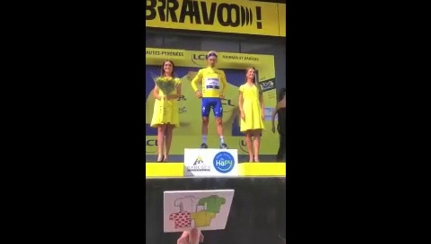 Cycling - Tour de France - Thibaut Pinot Wins Stage 14 at Tourmalet
