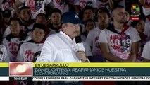 Pdte. Ortega reitera que seguirá trabajando por la paz en Nicaragua