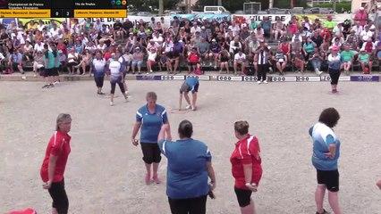 Championnat de France Triplettes Féminines à Saverdun (09) (3)