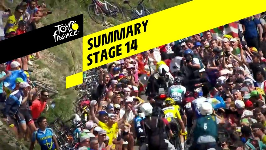 Summary - Stage 14 - Tour de France 2019