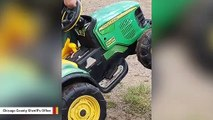 Missing Toddler Used A Toy John Deere To Drive Himself To County Fair