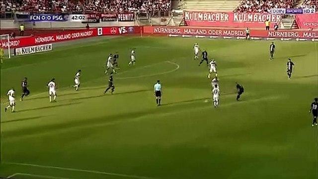 Nürnberg 0-1 PSG - Sarabia goal