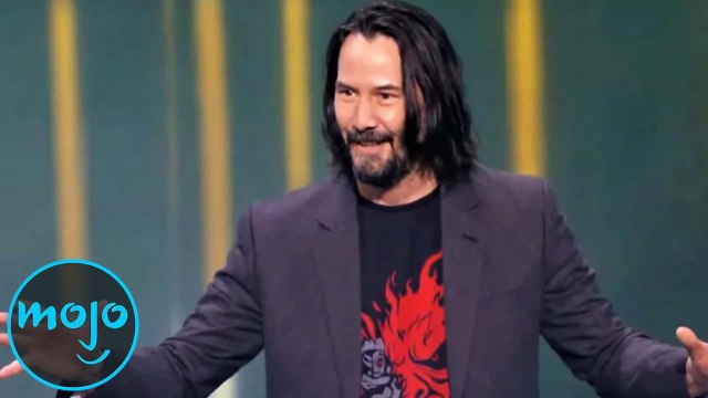 10 Male als KEANU REEVES das INTERNET erobert hat