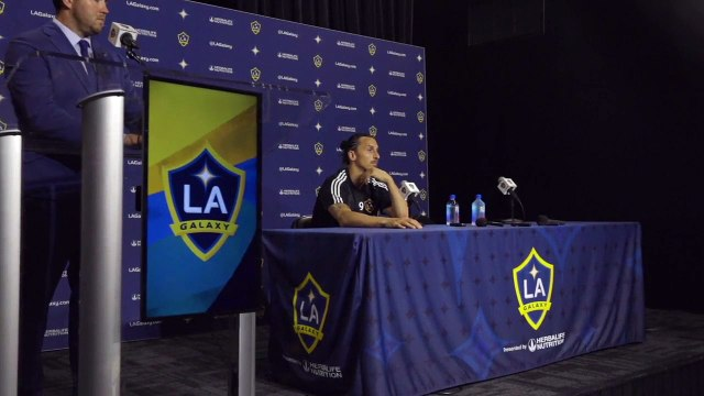 'My first goal was like an aeroplane strike' say Ibrahimovic after hat-trick in the Los Angeles derby