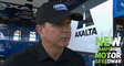 Jeff Andrews discusses Bowman backup car decision