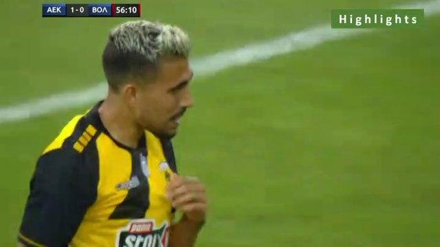 2-0 Viktor Klonaridis AMAZING Goal - AEK 2-0 Volos 20.07.2019