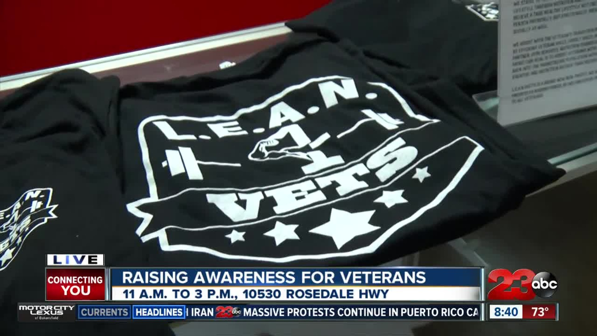 Local veteran non-profit helping vets with fitness and nutrition