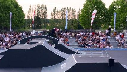 James Jones   1st Semi Final - BMX Freestyle Park     FISE European Series, Châteauroux 2019