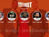 First Things First audio podcast (7.18.19)Cris Carter, Nick Wright, Jenna Wolfe _ FIRST THINGS FIRST