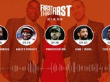 First Things First audio podcast (7.19.19)Cris Carter, Nick Wright, Jenna Wolfe _ FIRST THINGS FIRST