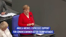 The German Chancellor Gets Involved With American Politics
