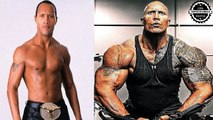 The Rock 'Dwayne Johnson' - Transformation  From 1 To 45 Years Old