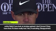 (Subtitled) 'Nobody has hit better than me this week' – Koepka on his ball-striking during third round