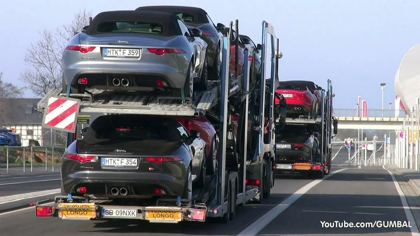 2014 Jaguar F-Type V8 S - Exhaust sounds-