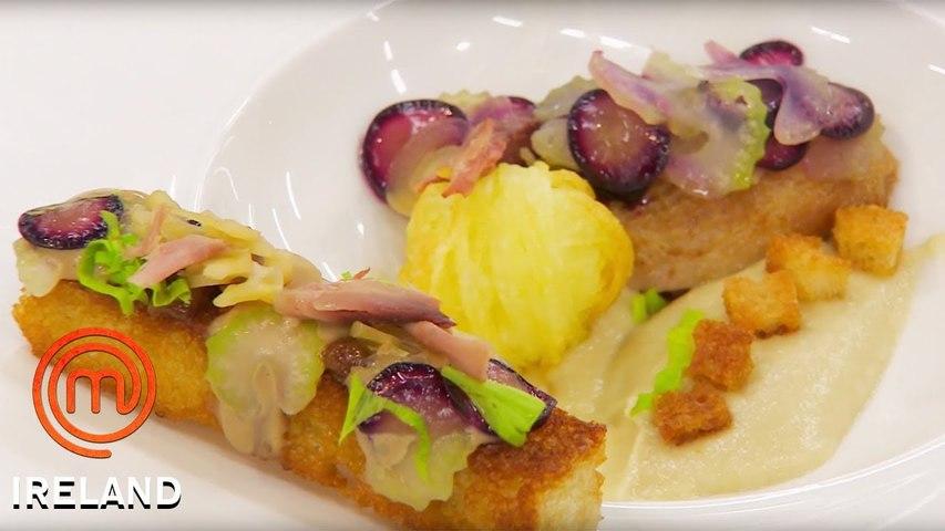 Daniel Clifford's Waldorf Salad With Roasted Quail - MasterChef Ireland - MasterChef World