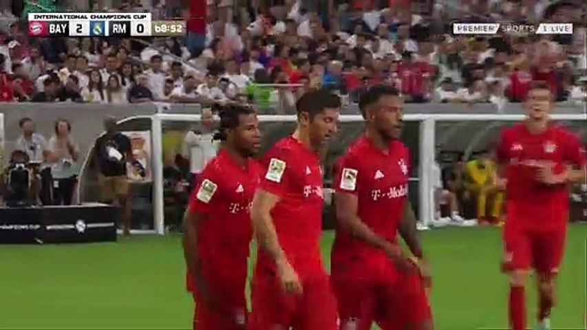 Serge Gnabry Goal - Bayern 3-0 Real Madrid (Full Replay)