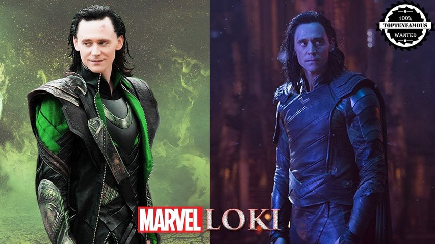 LOKI from young to old in Thor and Avengers Infinity War