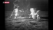 Il y a 50 ans, l'homme marchait sur la Lune