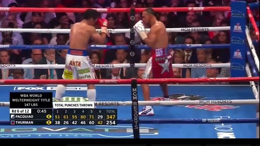 Manny Pacquiao vs. Keith Thurman full fight video