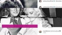 """PHOTO. """"J'ai deux amours"""" : le clin d'œil de Sylvie Vartan à J..."""