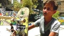Skateboarding in Syria: New park helps displaced children