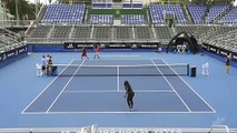 De près comme de loin, Serena Williams fait admirer sa précision
