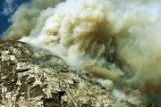En pleine canicule de l'été 2003, la montagne du Néron s'est embrasée